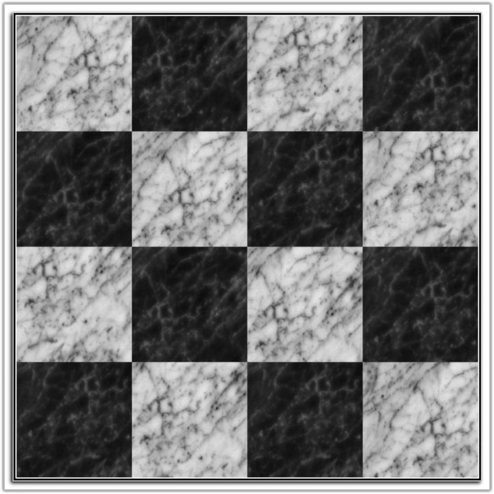 Black And White Marble Mosaic Tile Floor