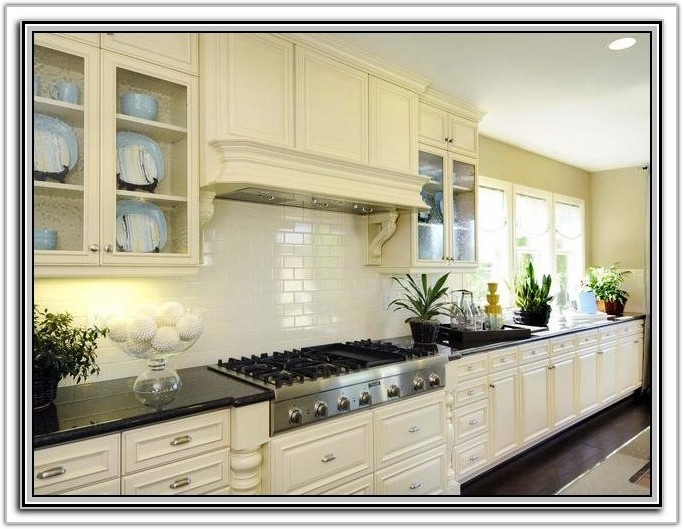 Black And White Subway Tile Backsplash Pictures