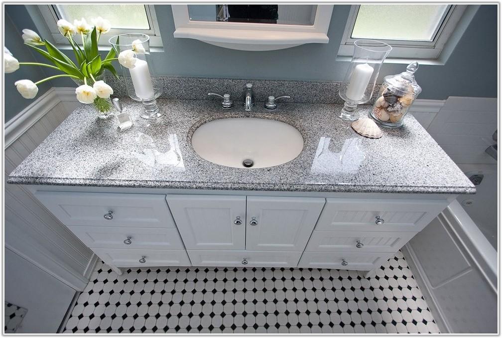 Black And White Tile Bathroom Floor