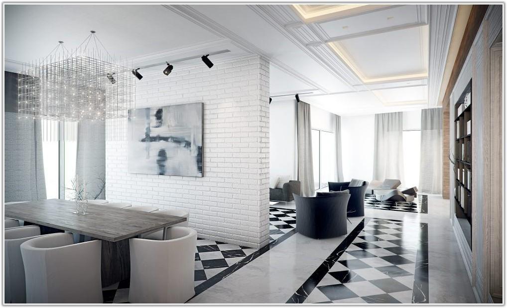Black And White Tile Floor Designs