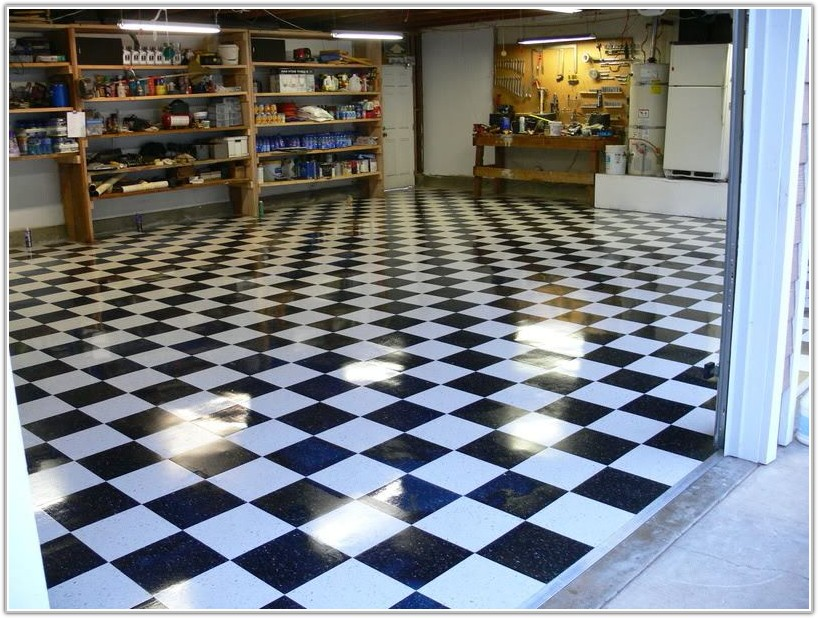 Black And White Vinyl Tile Flooring