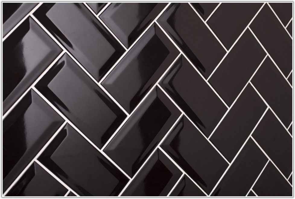 Black Brick Ceramic Wall Tiles