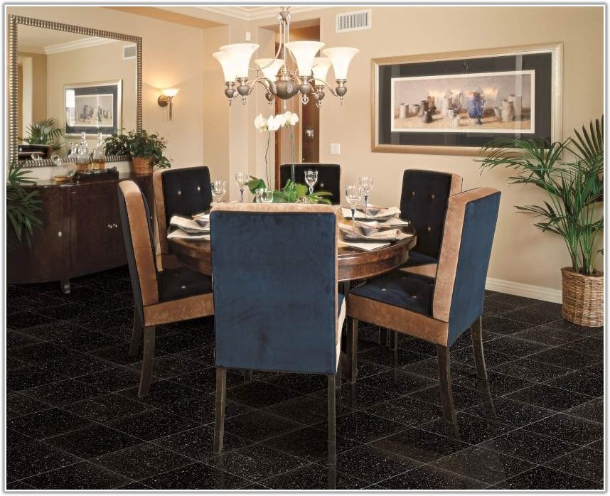 Black Galaxy Granite Tile 18x18
