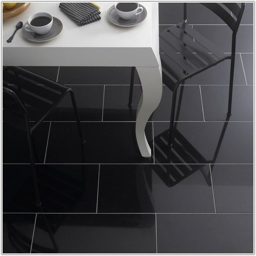 Black Kitchen Floor Tile Ideas
