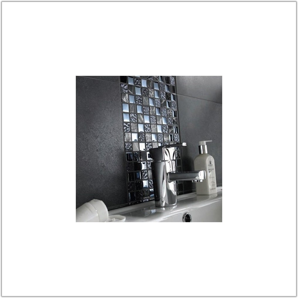 Black Marble Glass Mosaic Wall Tiles