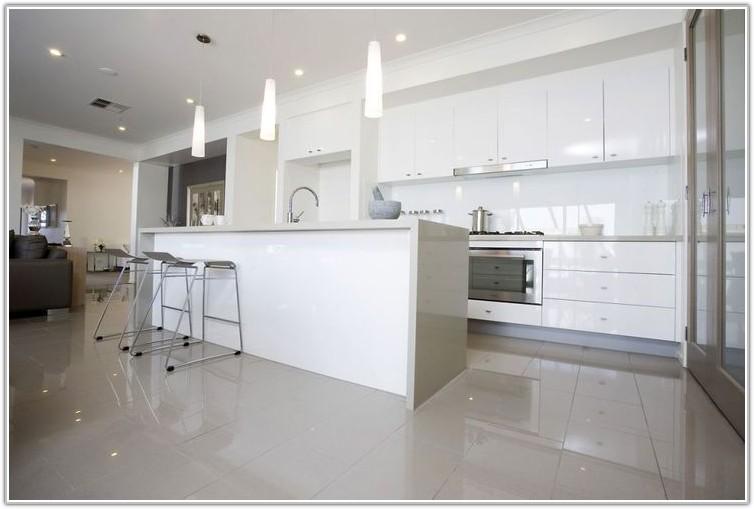 Black Porcelain Kitchen Floor Tiles