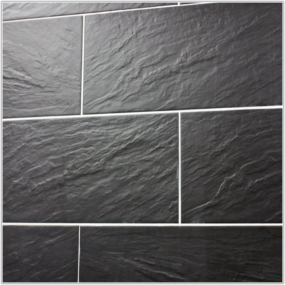 Black Slate Effect Wall Tiles