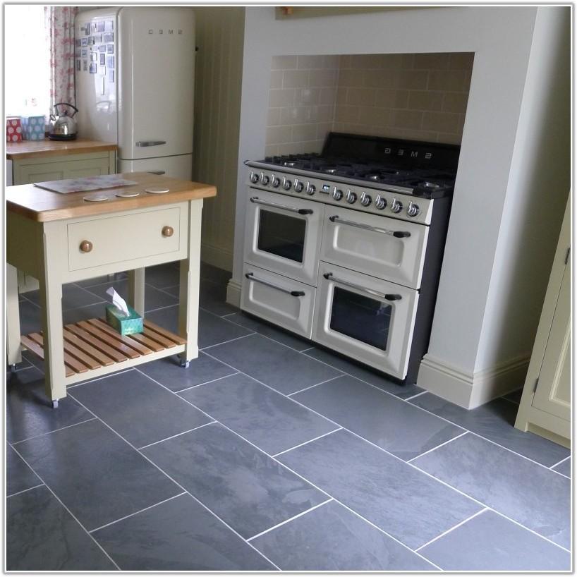 Black Slate Floor Tiles 600x600