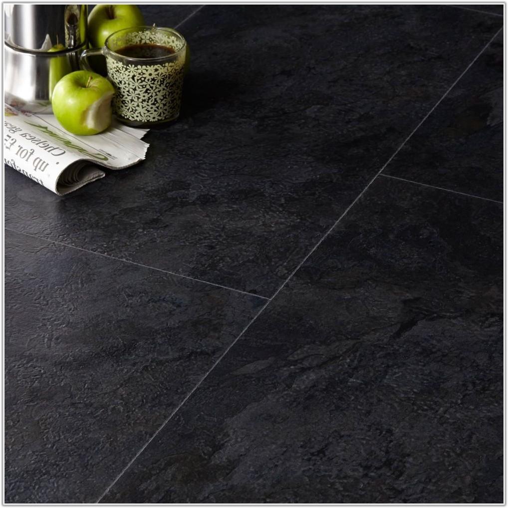 Black Slate Floor Tiles Bq