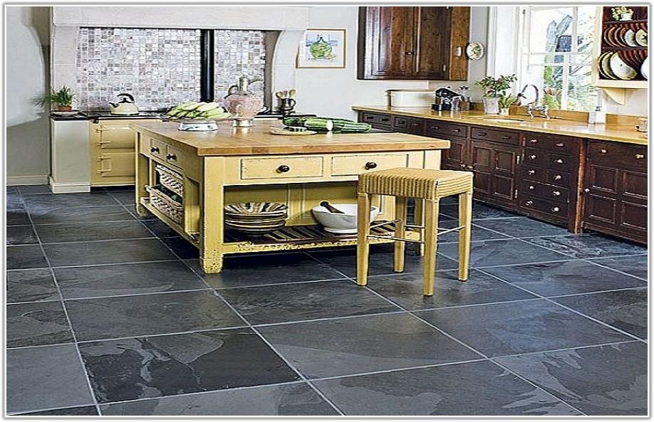 Black Slate Floor Tiles Cleaning