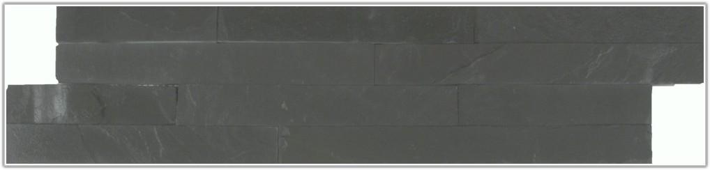 Black Slate Split Face Wall Tiles