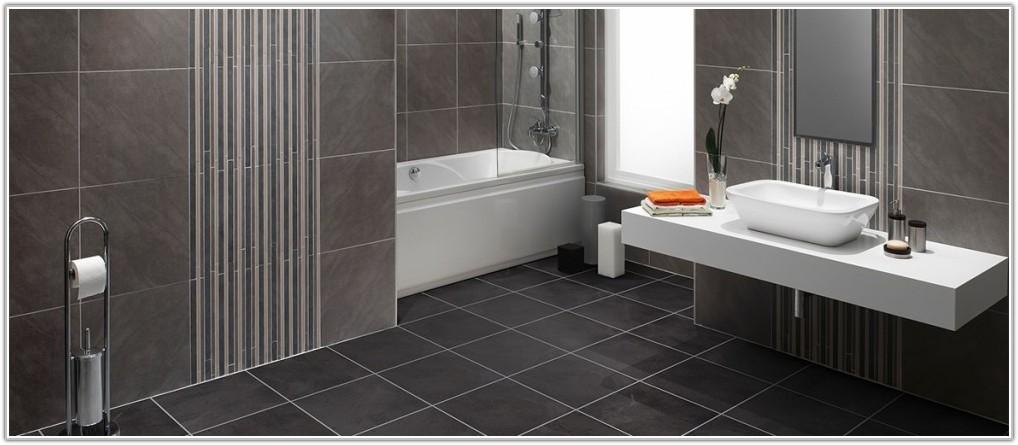 Black Slate Vinyl Floor Tiles