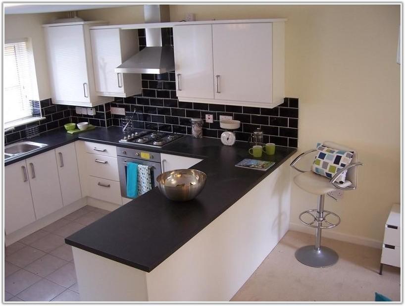 Black White Kitchen Wall Tiles