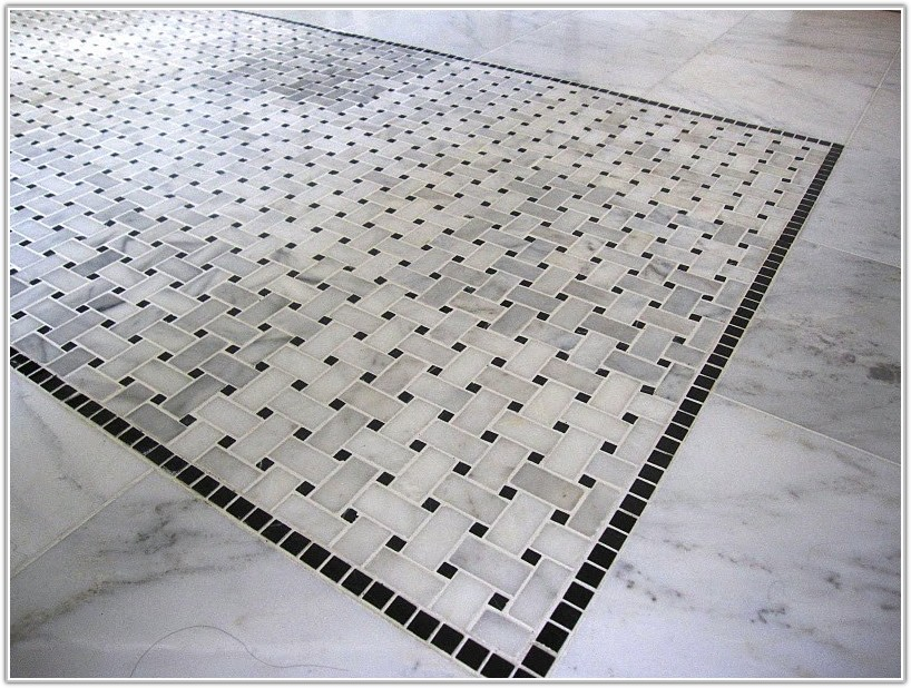 Black White Tile Floor Designs