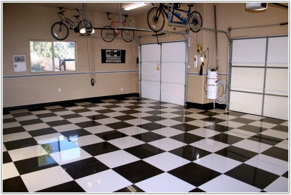 Black White Vinyl Flooring Tiles