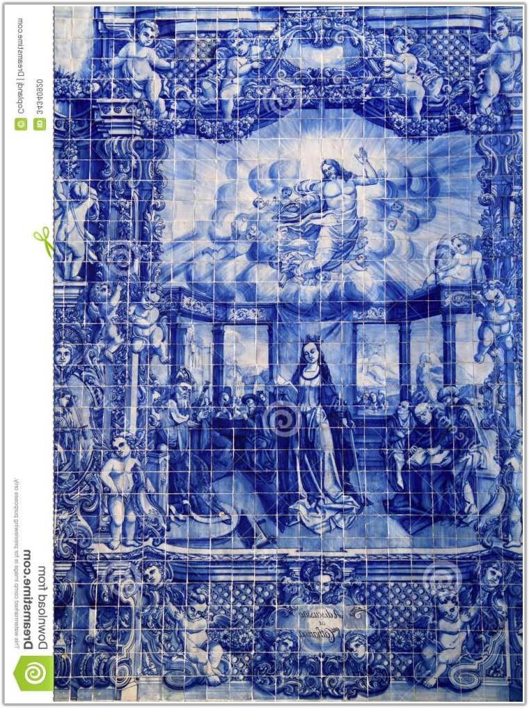 Blue And White Ceramic Tiles