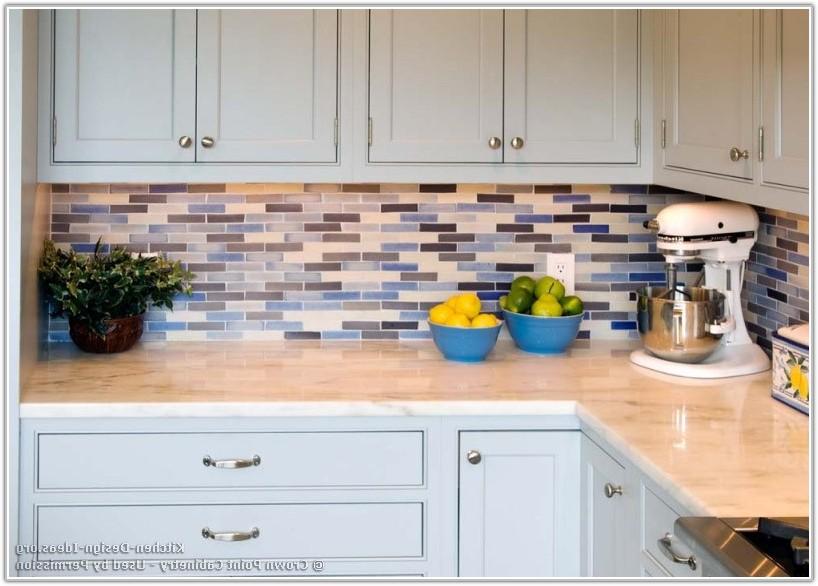 Blue And White Kitchen Backsplash Tiles