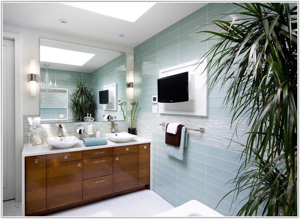 Blue Glass Tile For Bathroom