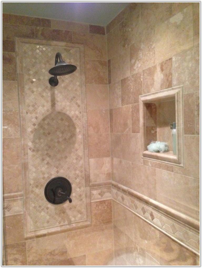 Blue Marble Effect Bathroom Wall Tiles