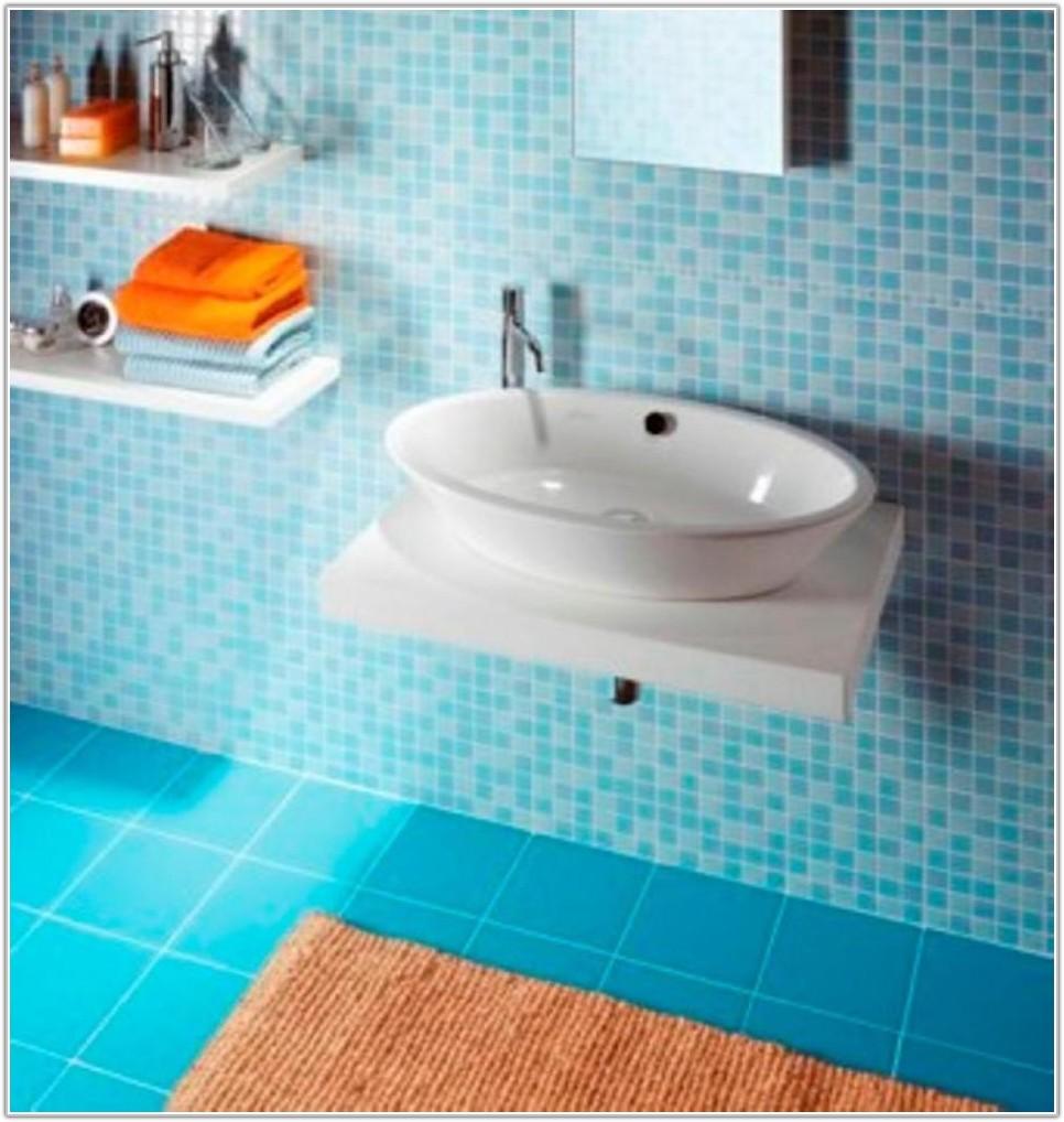 Blue Wall Tiles For Bathroom