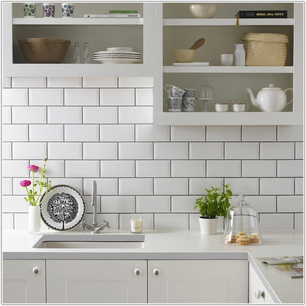 Brick Style Wall Tiles Kitchen
