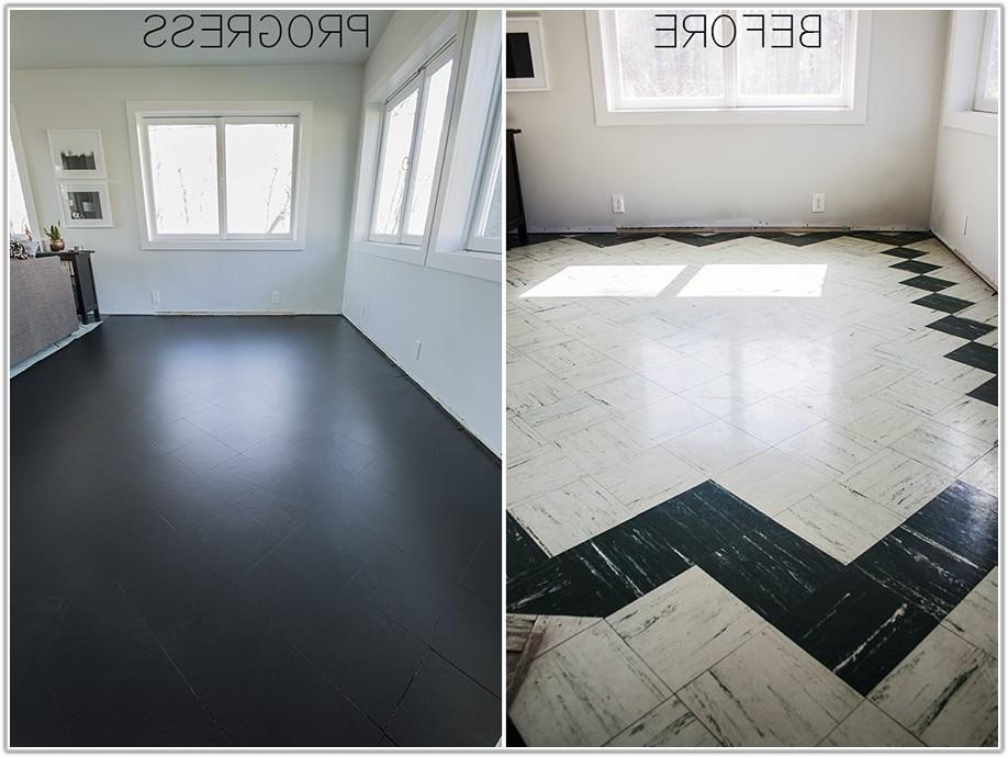 Can You Paint Bathroom Tile Floor