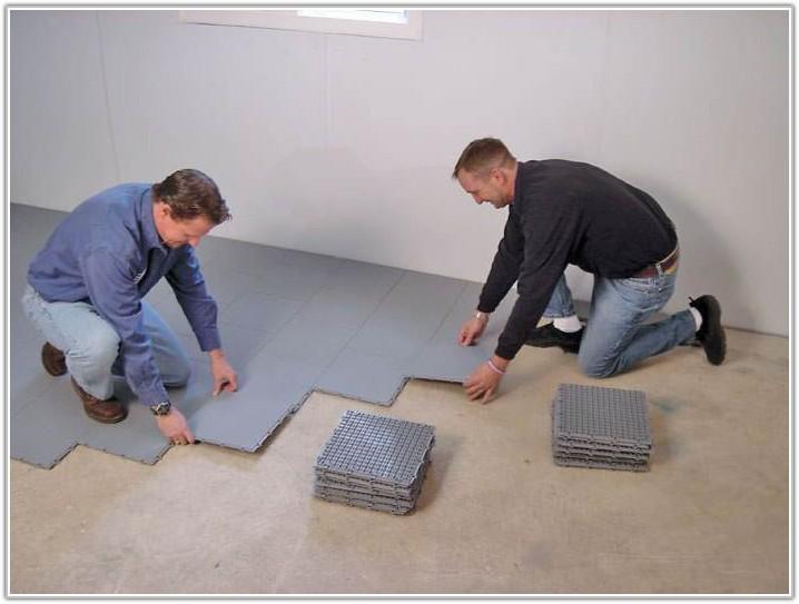 Carpet Tiles On Concrete Floor