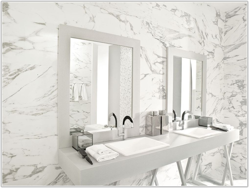 Carrara Marble Tile Bathroom Pictures
