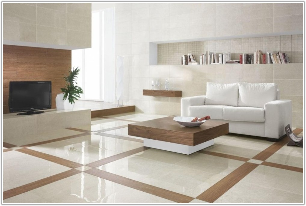 Ceramic Floor Tiles Design For Living Room