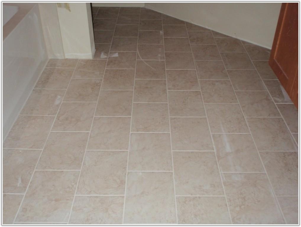 Ceramic Or Porcelain Floor Tile For Bathroom