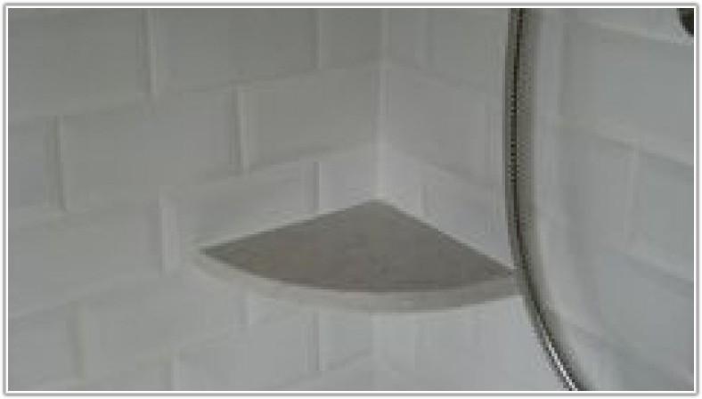 Ceramic Tile Corner Shelf Install