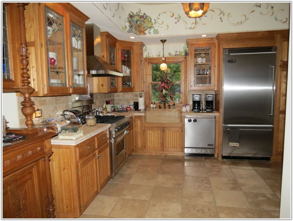 Ceramic Tile Flooring Ideas Kitchen