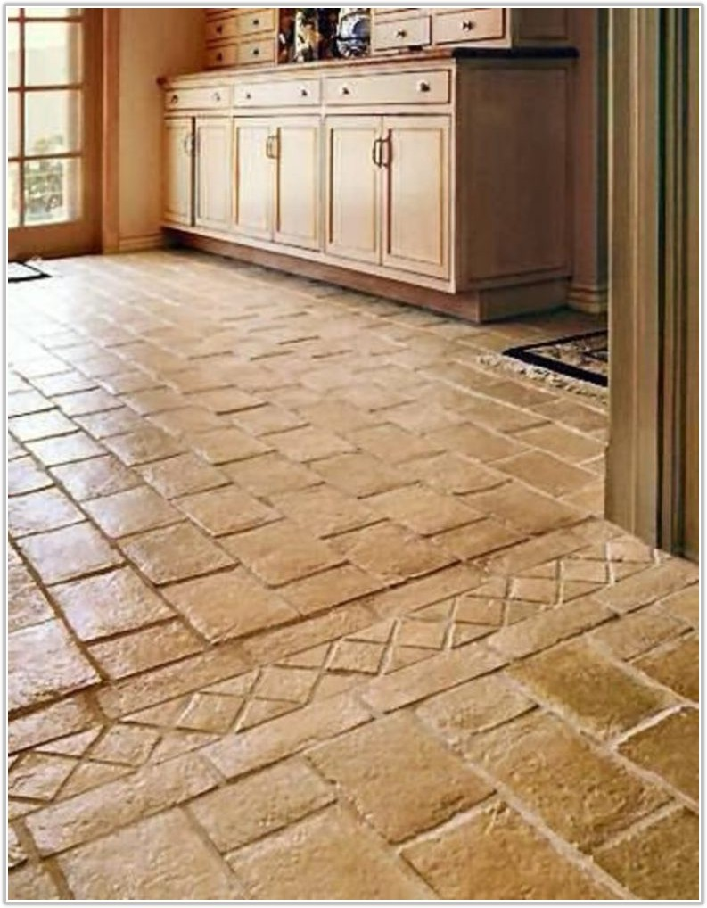 Ceramic Tile Flooring Kitchen Ideas