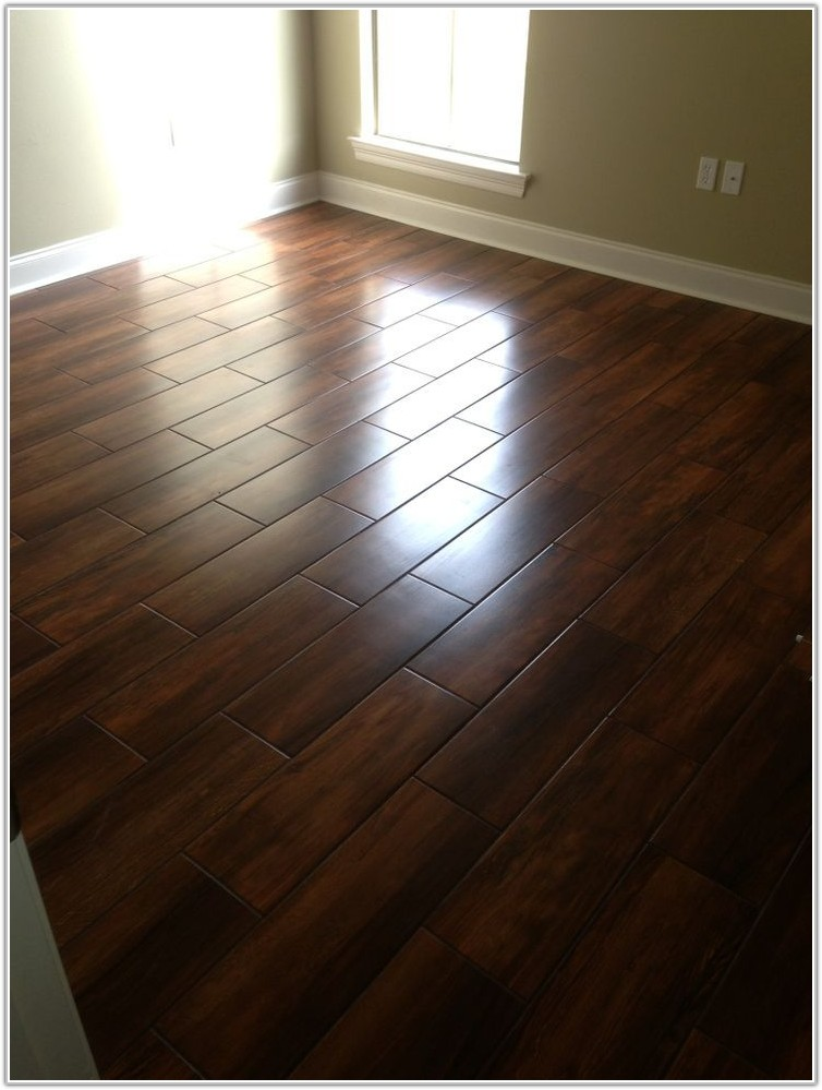 Ceramic Tile Flooring Wood Look