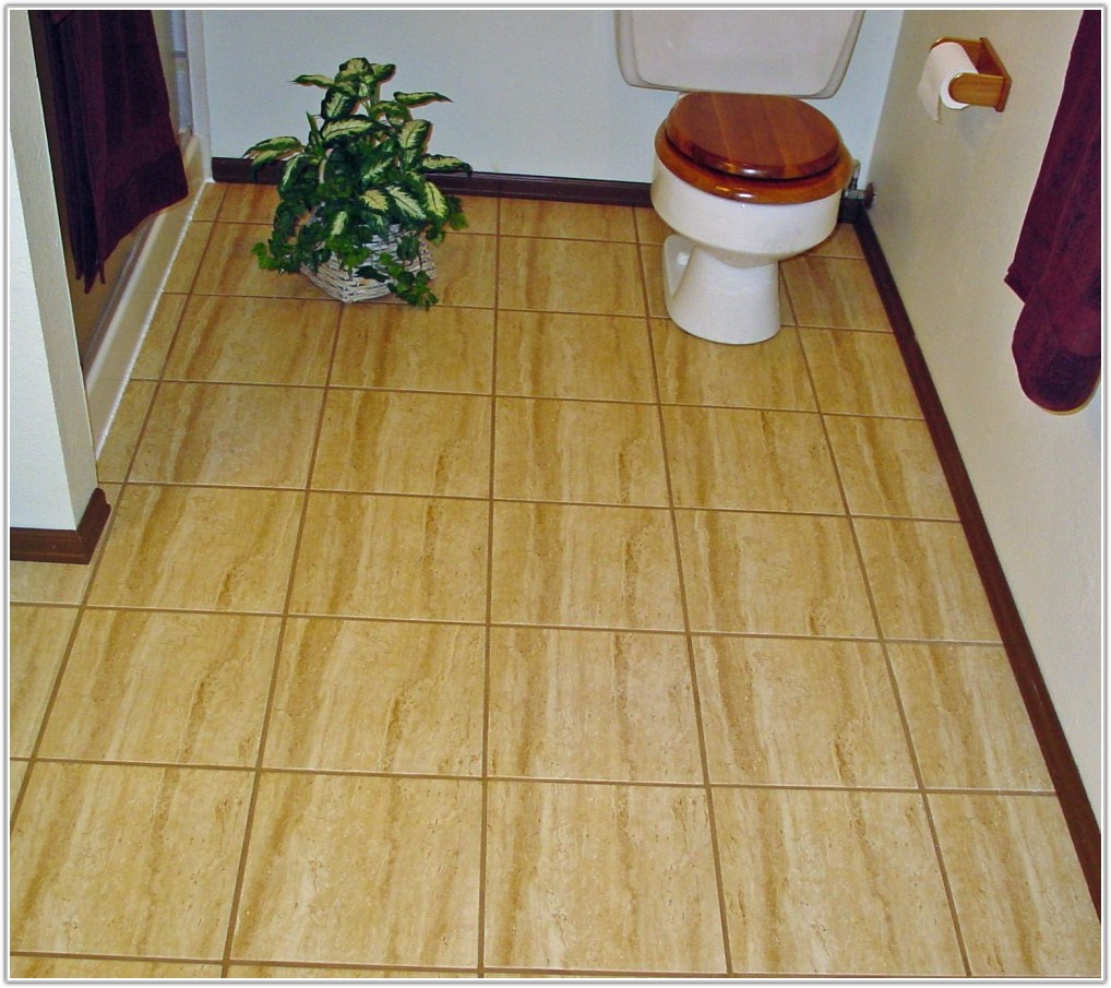 Ceramic Tile On Concrete Basement Floor