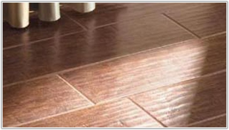 Ceramic Tile Over Hardwood Floor