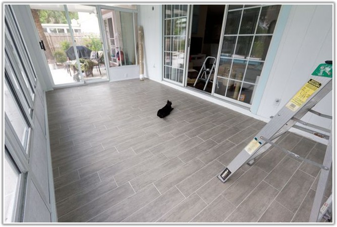 Ceramic Tile Wood Flooring Ideas