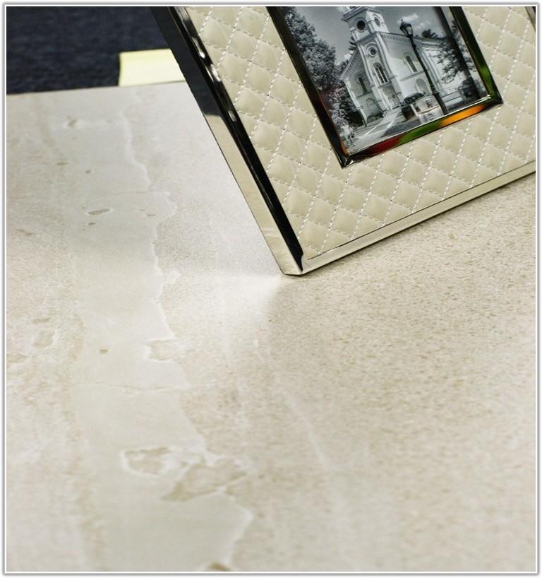 Classico Travertine Taupe Glazed Porcelain Floor Tile