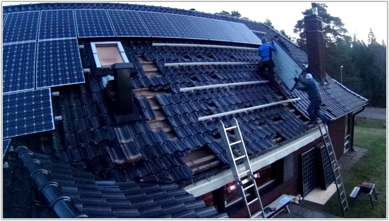 Clay Roof Tile Solar Panels