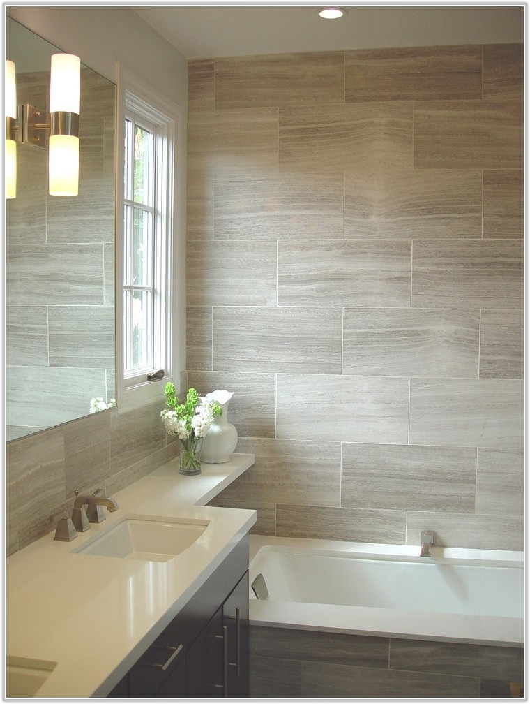 Contemporary Bathroom Tiles Design Ideas