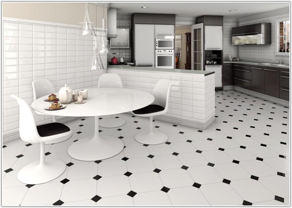 Contemporary Kitchen Floor Tile Designs