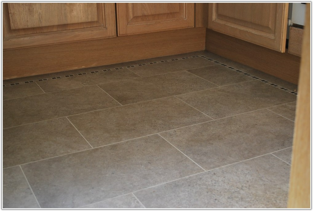 Covering Floor Tiles In Kitchen