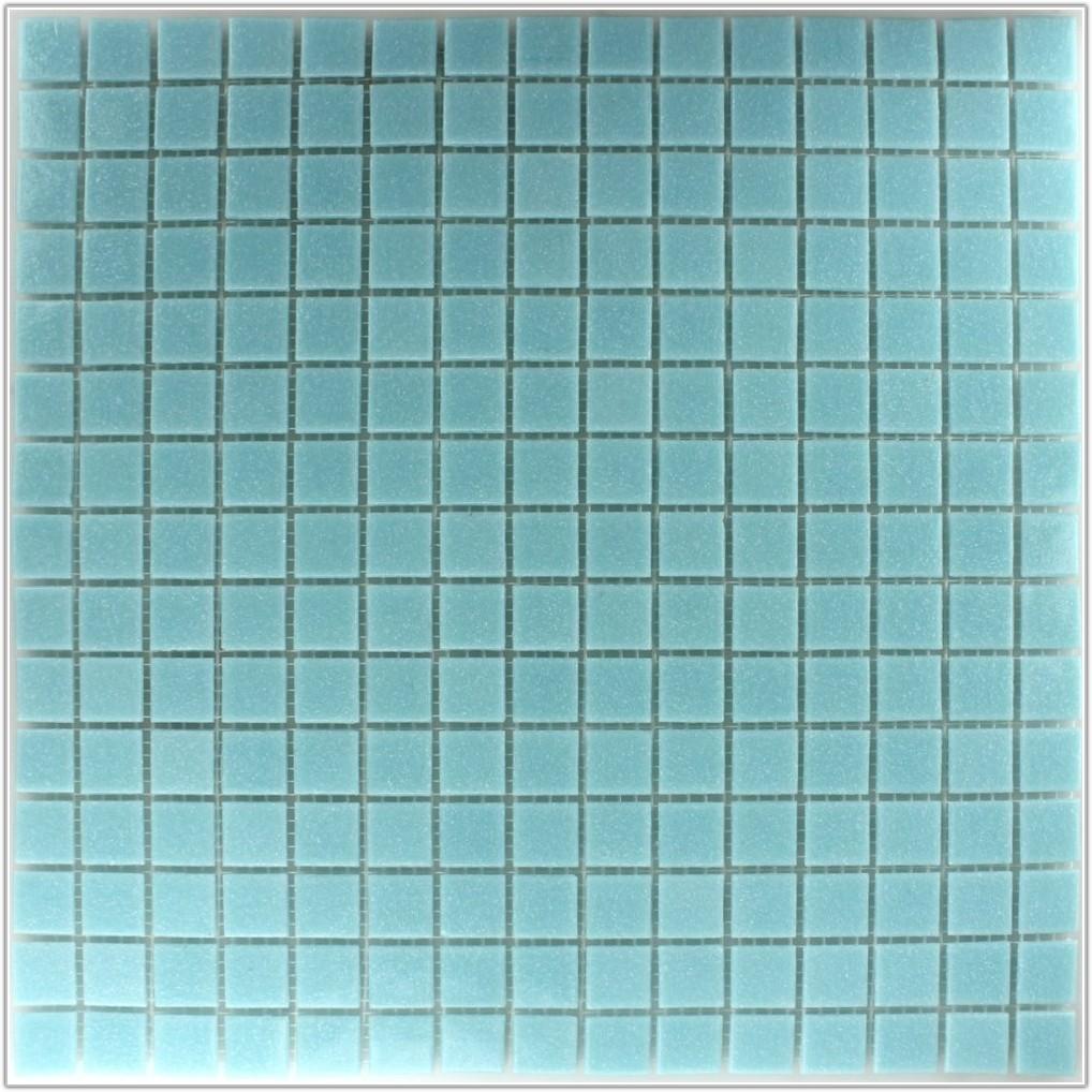 Dark Blue Glass Mosaic Tiles