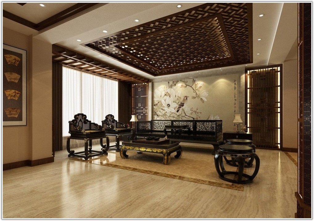 Dark Brown Ceramic Tile Flooring