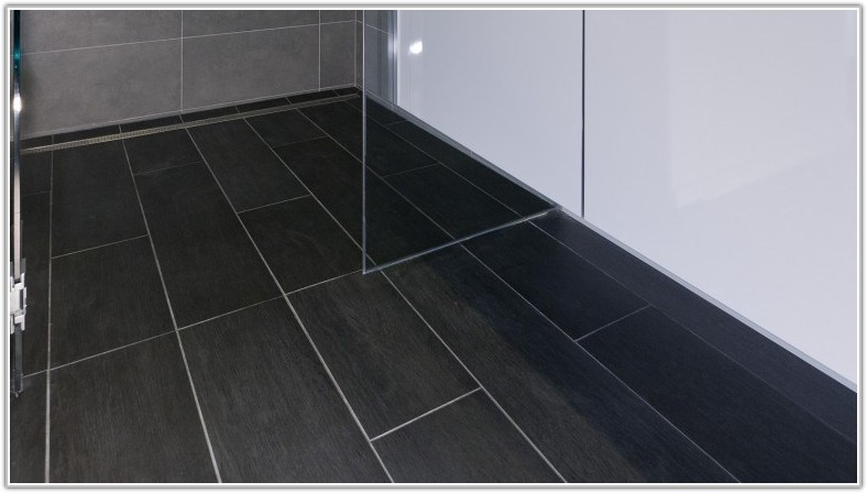 Dark Brown Floor Tile Grout