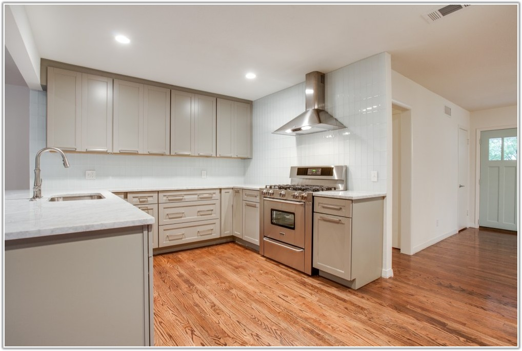 Dark Brown Tile Kitchen Floor
