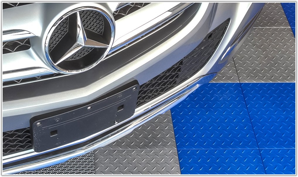 Diamond Plate Garage Floor Tiles