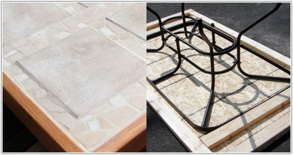 Diy Tile Top Patio Table