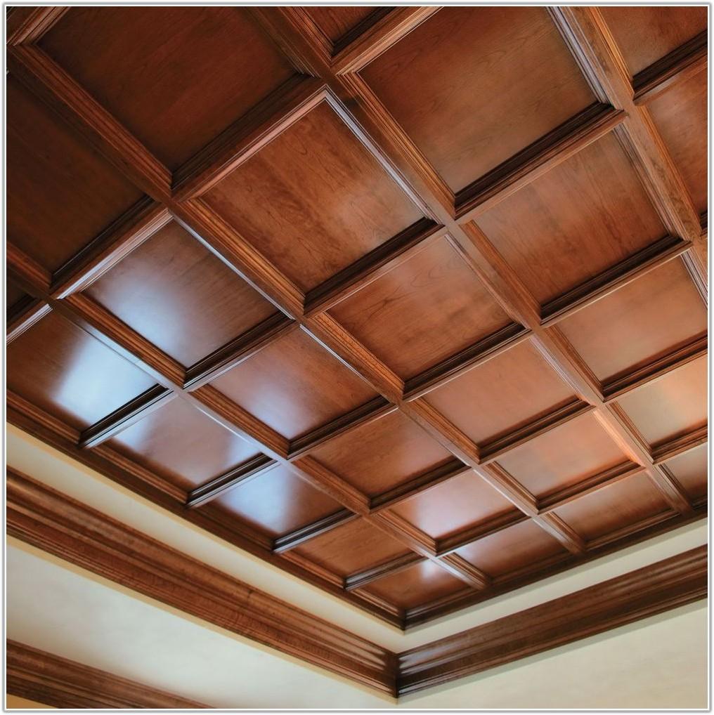 Drop Ceiling Tiles Wood Look