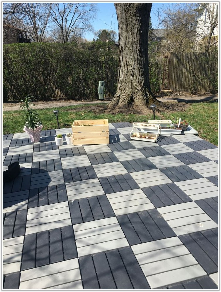 Easy To Install Patio Tiles